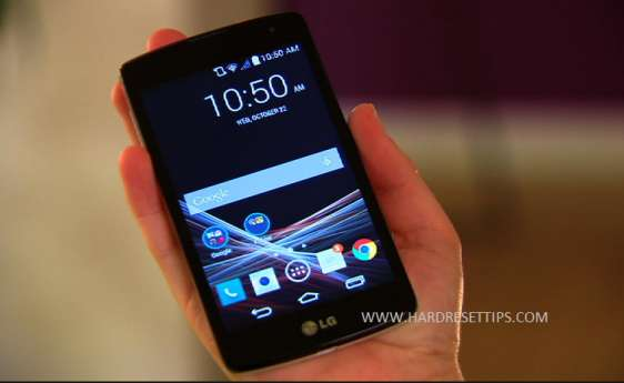 factory reset LG Tribute