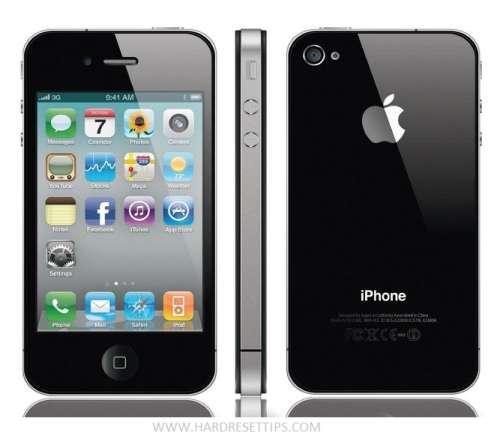 factory reset iPhone 4