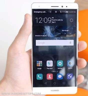 Huawei Mate S hard reset