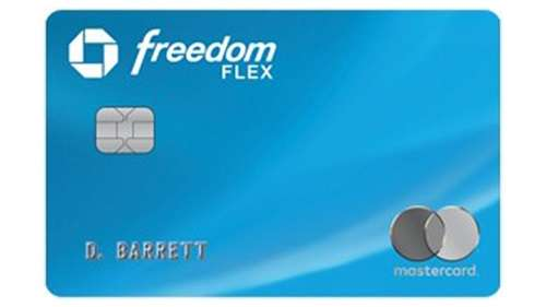Chase Freedom Flex Credit Cards With No Annual Fee
