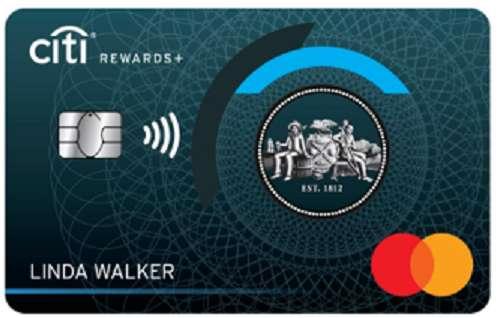 Citi Rewards + no fee cash back credit card