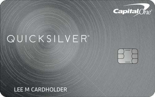 Quicksilver Cash Rewards Credit Card From Capital One
